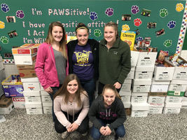 W.E.S Student Council Representatives Speak on Importance of Food Drive