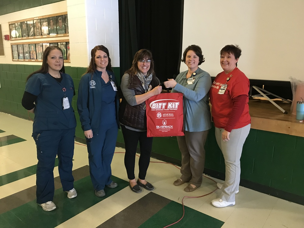 "Staff Participate in ""Stop the Bleed"" Training"