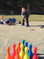 1st Grade Learns Subtraction through Bowling