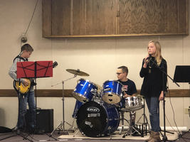 Waterford Student's Band a Big Hit