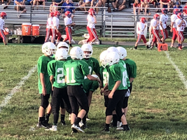 W.E.S Jr. High Football Off to a Great Start