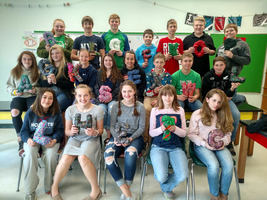 Mrs. Smith's Art Class Make 3D Letters