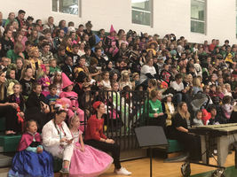 Waterford Students Celebrate Halloween