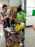 Mrs. Mast's Class Begins Weekly Coffee Cart