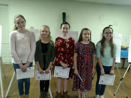 Grange Names W.E.S Winners of Presidential Poster Contest