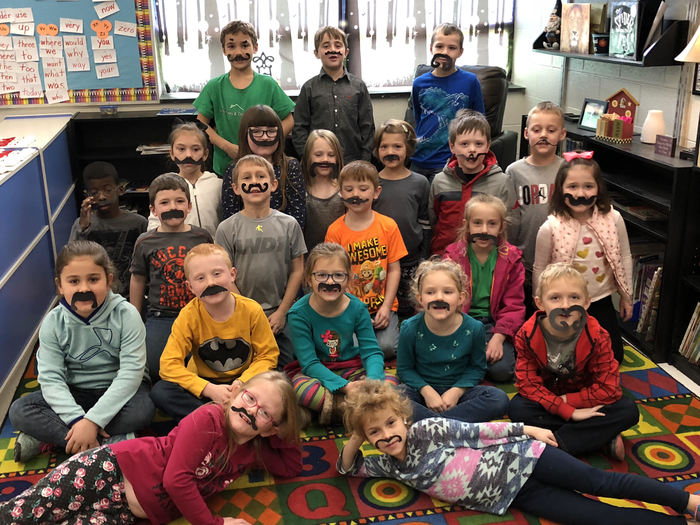 1st Grade Measuring Mustaches